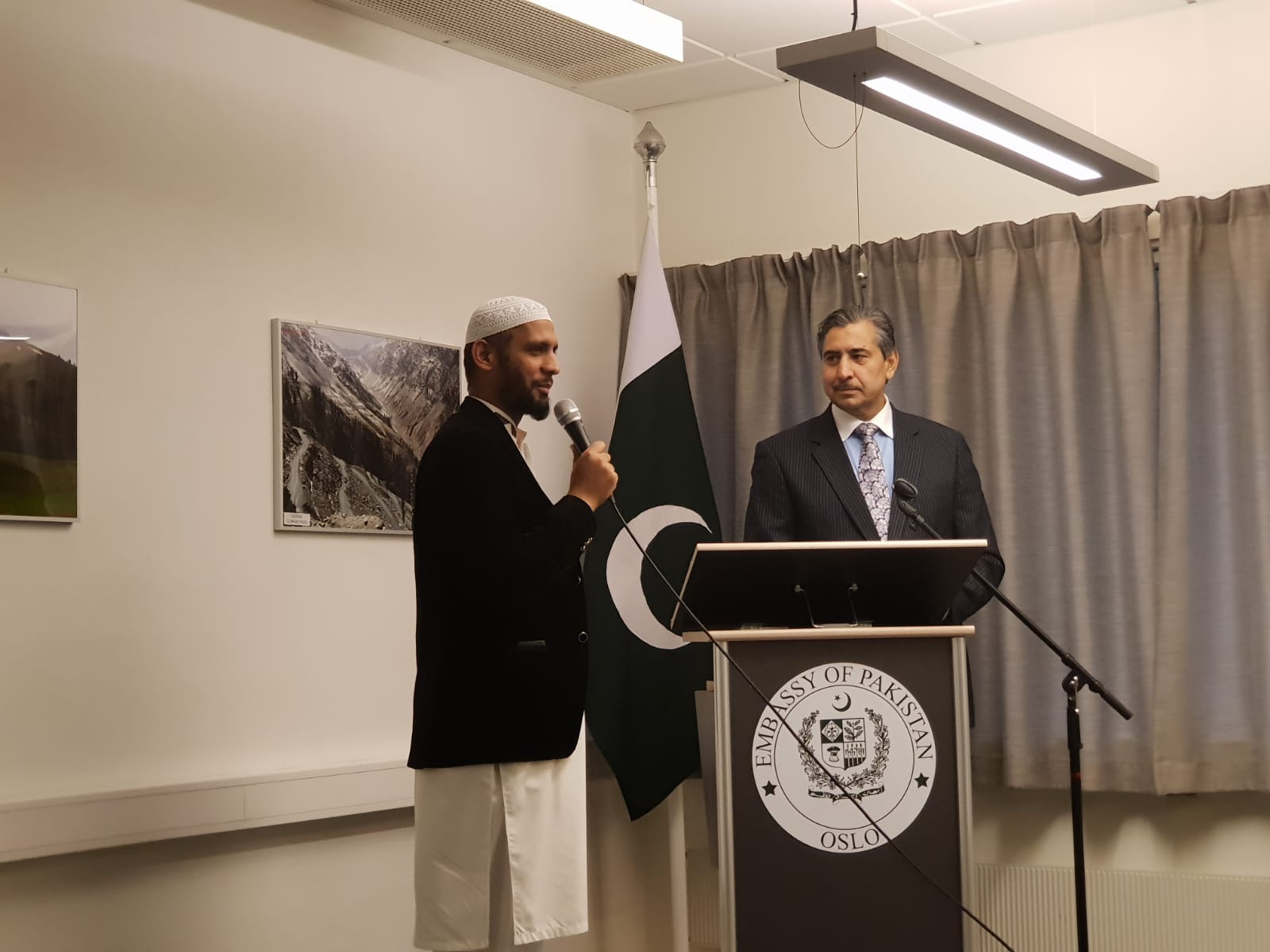 Meeting Of The Ambassador He Zaheer Pervaiz Khan With The Management Committees Of The Mosques And Madaaras In Norway At The Embassy Of Pakistan Oslo On 25 September 2018